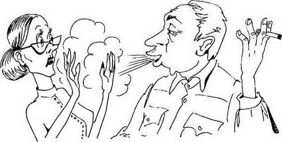 Картинка против курения распечатать