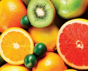 «Блестящие» фрукты