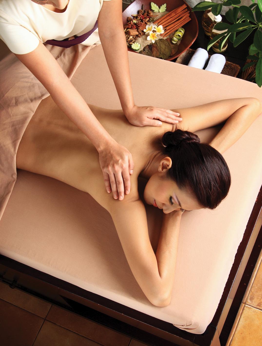 Русская девушка выполняет лингман массаж 6 фотография