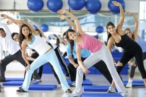 Активные занятия спортом